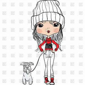 Cute Fashion Girl Cartoon | www.imgkid.com - The Image Kid ...