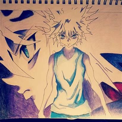 Killua Godspeed Drawing Tutorial Anime Finished Request