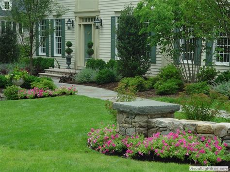 front sidewalk landscaping new jersey front entry walkway landscaping installer contractor front entries walkway