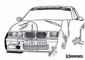Drawing Zeichnung Zeichnungen T Bmw E36 Compact
