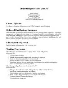 Dental Office Manager Resume Examples