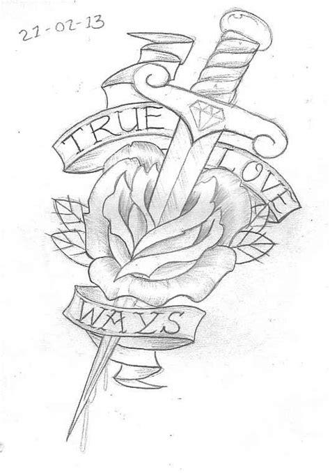 Tattoo Sketch A Day: February 2013