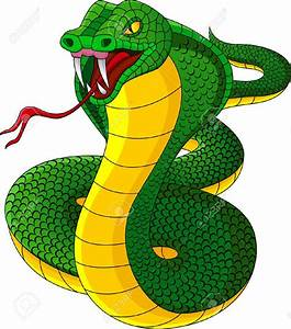 Angry Snake Clipart - ClipartXtras