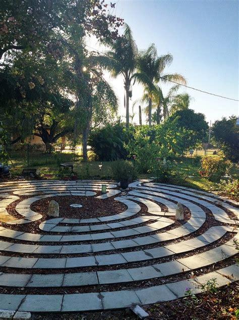 Backyard Labyrinth by Our Backyard Labyrinth Go Outside Photos