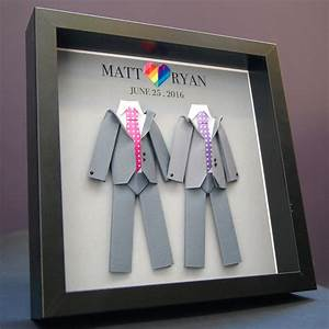 personalized gay same sex lgbt wedding marriage With same sex wedding gifts