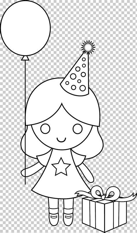 Dibujos para colorear de cumpleaños cumpleaños para niñas