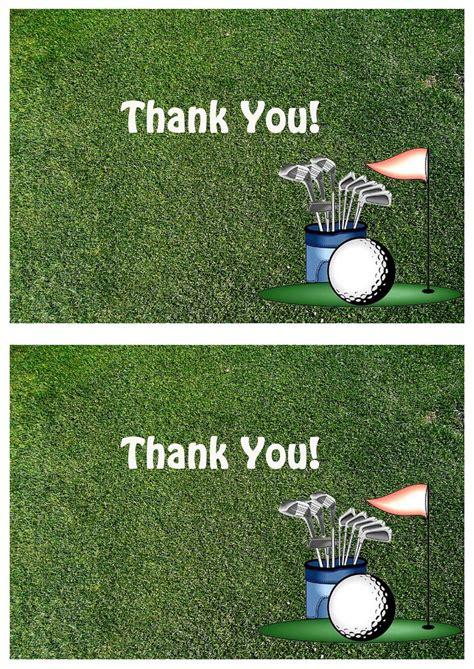golf   cards birthday printable