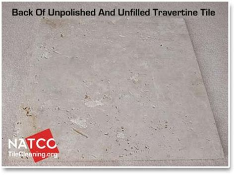 how to fill holes and cracks in travertine
