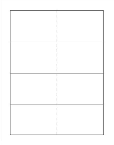 Flashcard Template Blank Printable Flash Cards The Best Resume