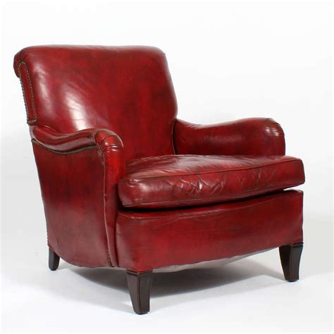 Comfy Vintage Red Leather Club Or Armchair At 1stdibs. Dark Baseboards. Painted Brick Fireplaces. Custom Bar. White Quartz. Granville Homes. Table Behind Couch Name. Galley Kitchen Remodel. Kelly Moore Exterior Paint