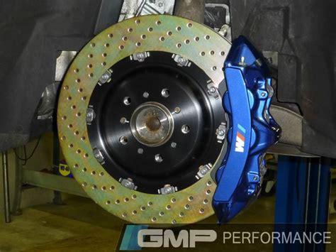 custom painted brembo  piston big brake upgrade  white