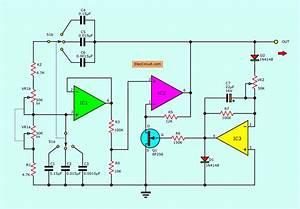 Wien Bridge Oscillator Circuits Using Op