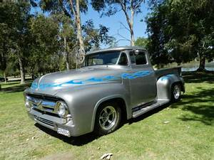 Frameoff 1956 Ford Pickup Truck Restomod 350/350 Chevy Mustang Ii Ps Pdb Tilt - Used Ford Other ...