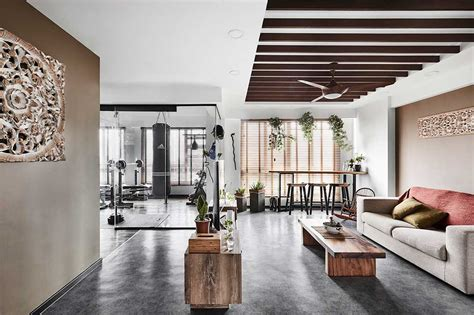 Grey Living Room Hdb by Hdb Flat Turned Resort Home With A Lookboxliving