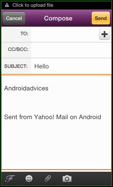 yahoo mail app for android yahoo mail android app manage