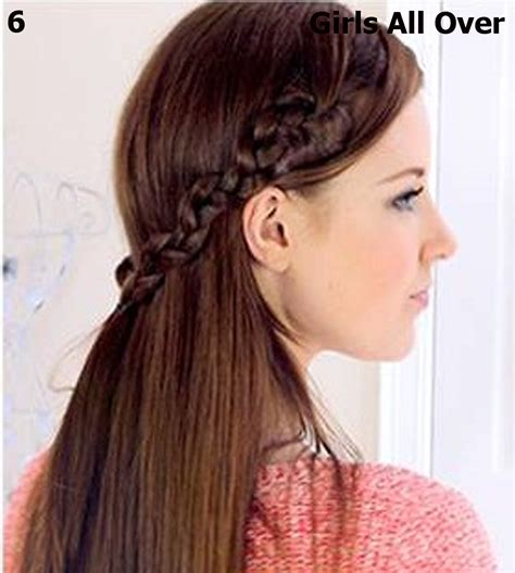 simple hairstyles  girls  long hair hairstyle