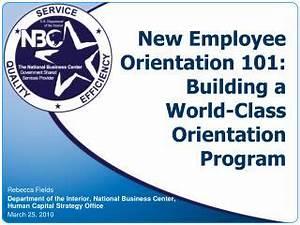 PPT - New Employee Orientation 101: Building a World-Class ...