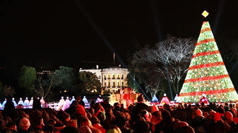national christmas tree presidents park white house