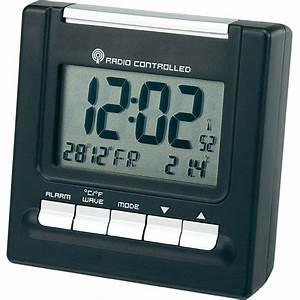 Radio Controlled Uhr Bedienungsanleitung : rc195 radio alarm clock black alarm times 2 from ~ Watch28wear.com Haus und Dekorationen