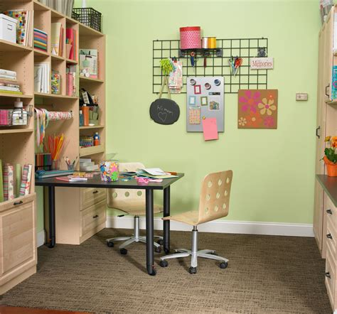 Small Room Design Small Craft Room Storage Solutions