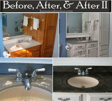 bathroom ideas for kammy 39 s korner painting a porcelain vanity countertop