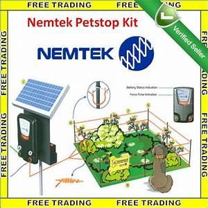 other security surveillance nemtek petstop solar panel With electric dog fence kit