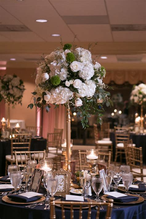 Navy Blue And Rose Gold Wedding Decorations Apartment