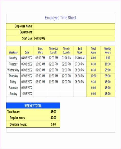 excel timesheet template  formulas exceltemplates