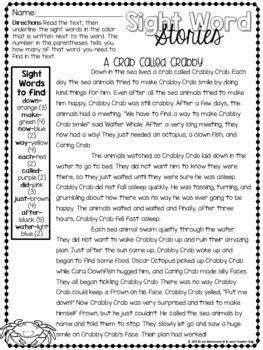 sight word stories  brynns teacher bag teachers pay