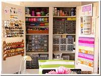craft room organization ideas My Craft Cabinet: Up Close and Personal   In My Own Style