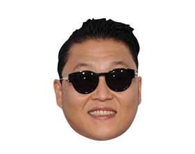 Celebrity Cardboard Cutout Face