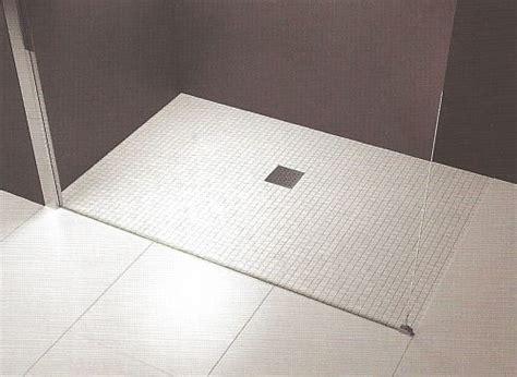 Novellini Quattro Deck wet room shower floor former