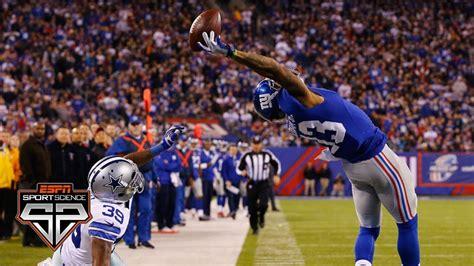 Odell Beckham Jr.'s one-handed catch | Sport Science ...