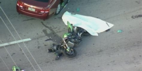 #breaking Fatal Motorcycle Accident In North Miami Beach