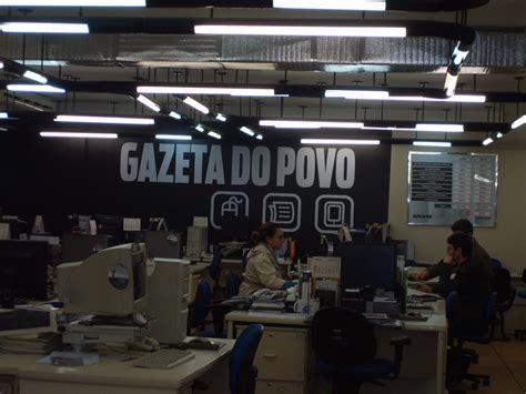 ESCOLA IZAIR LAGO: VISITA NA GAZETA DO POVO