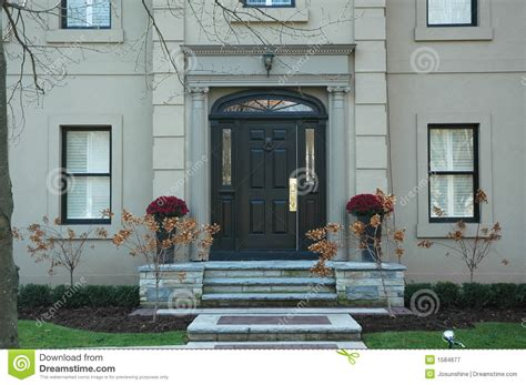 grand home entrance royalty  stock photography image