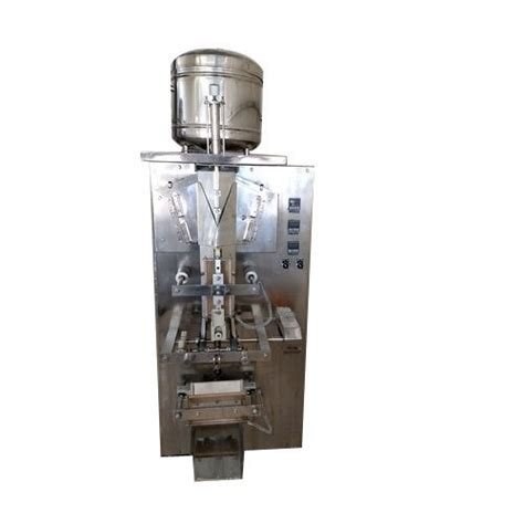 centre sealing mechanical automatic pouch filling machine  industrial single phase