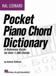 Hal Leonard Pocket Piano Chord Dictionary  A Reference