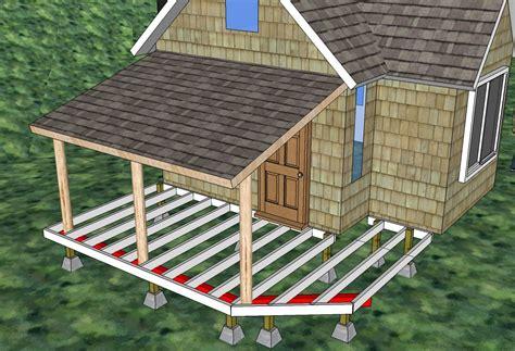 porch building plans storage build wood shed designs 8x16 trailer