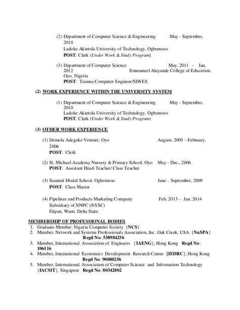 computer science resumes entry level computer science