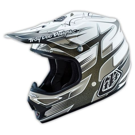 motocross helmet design troy lee designs motocross helmet 2016 air starbreak white