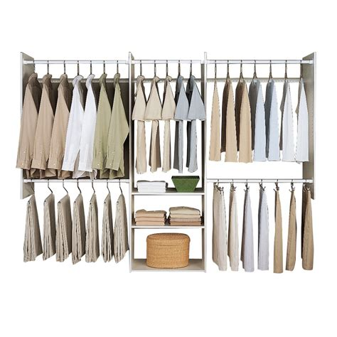 easy track deluxe  closet system reviews wayfair
