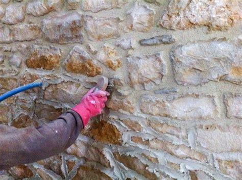 nettoyer un mur extrieur technique rnovation mur