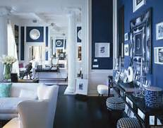 Navy Blue Interior Design Idea Interior Design Color Trends In 2015 Greek Blue Trendy By Homecaprice