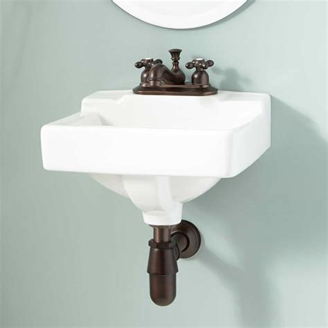 gerber west point wall mount bathroom sink ebay