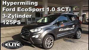 Ford Ecosport Automatik : hypermiling 2018 ford ecosport scti 3 zylinder ~ Kayakingforconservation.com Haus und Dekorationen