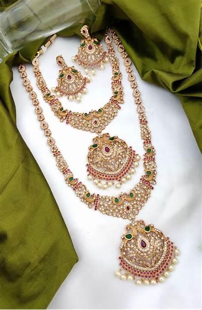 Jewellery Indian Bridal South Imitation Grand Sets