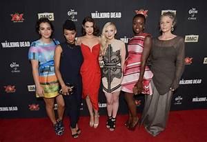 EMILY KINNEY at The Walking Dead Season 5 Premiere in Los ...