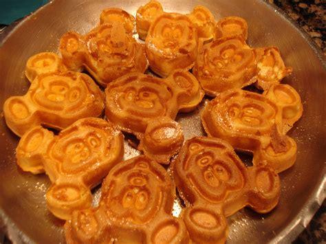 disney cuisine mickey waffles at cape may the disney food