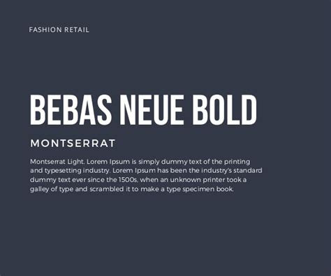 The 5 Best Fonts To Use On Your Resume by Bebas Neue Bold Montserrat Montserrat